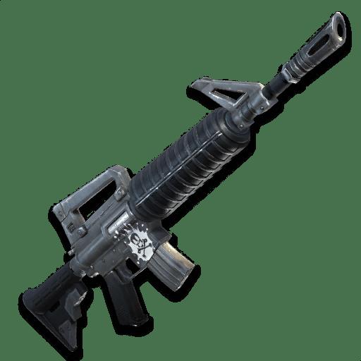 Fusil d'assault AR Grise Fortnite - Ma vie de Bambi