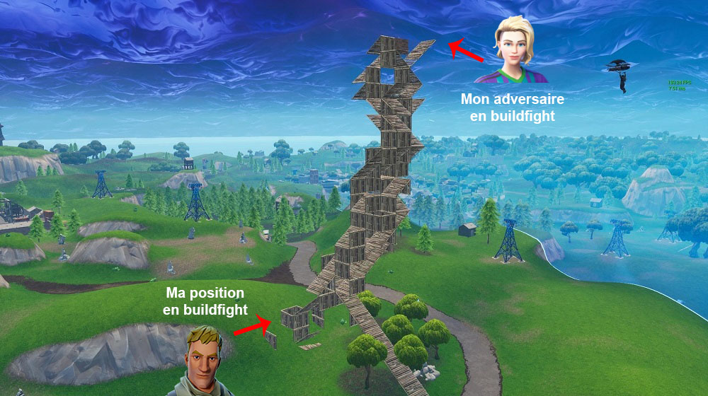 Buildfight sur Fortnite Battle Royal - Ma vie de Bambi