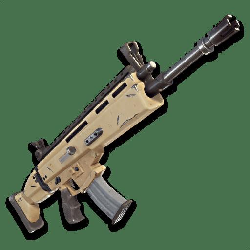 Fusil d'assault SCAR légendaire Fortnite - Ma vie de Bambi