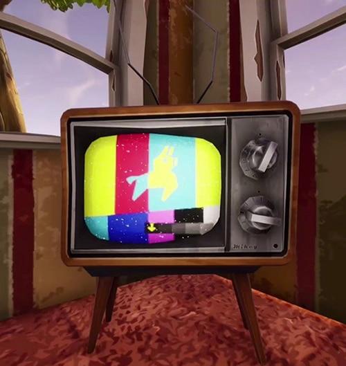 Jouer sur TV à Fortnite - Ma vie de Bambi