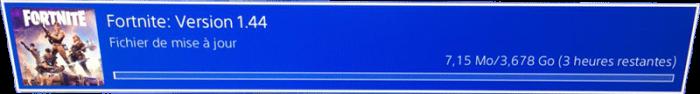 Téléchargement de Fortnite sur PS4 - Ma vie de Bambi